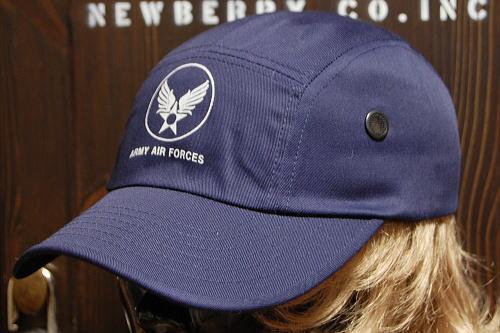 画像1: キャンプキャップ 帽子 ミリタリー エアフォース ROTHCO ロスコ ブランド /ネイビー 紺 (1)