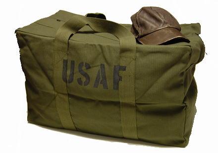 画像1: 大容量 メンズ USAF カーゴバッグ ROTHCO ロスコ 社製 ボストンバッグ 新品 / オリーブ (1)