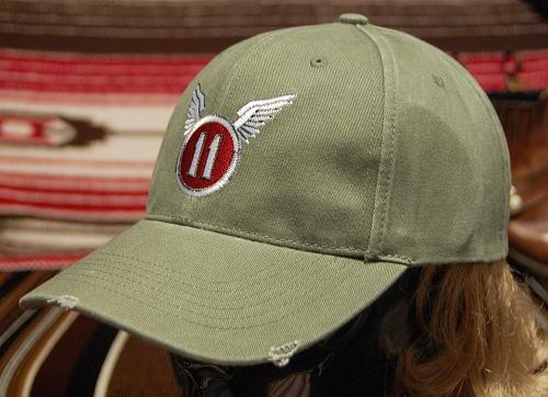 画像1: 帽子 メンズ ミリタリー キャップ 11th.AIRBORNE パラシュート部隊 ROTHCO ロスコ ブランド / オリーブ ダメージ (1)