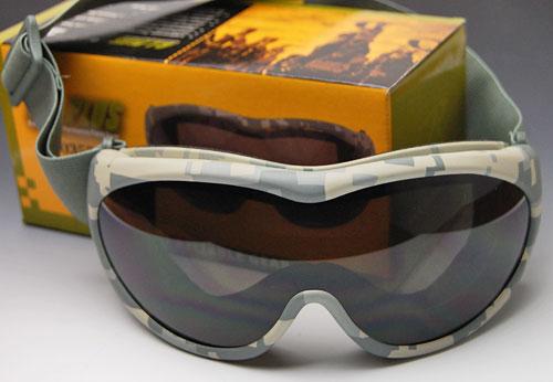 画像1: タクティカル ゴーグル ARMY デジタル カモフラージュ ロスコ ROTHCO 新品 / MXバイク サバゲー (1)